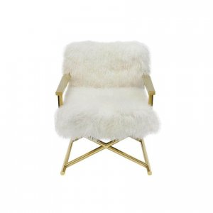 Naturally Timber 'Audrey' armchair - ivory