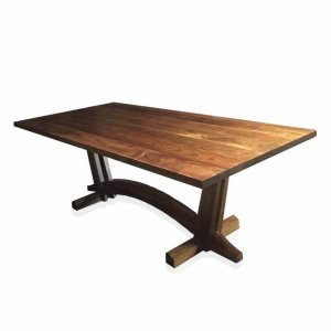 Lloyd dining table in Tasmanian Blackwood