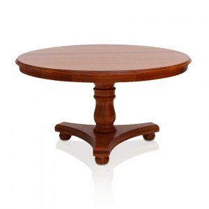 Dalton round dining table in River Red Gum