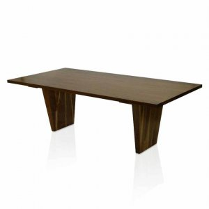 Naturally Timber Torino dining table in American Walnut V2