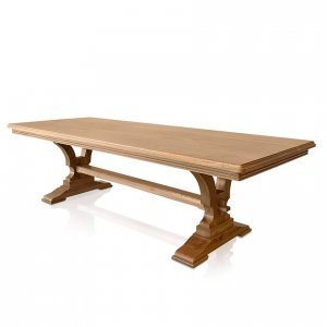 Madrid dining table in American Oak