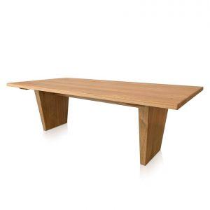 Torino dining table in American Oak