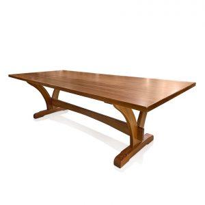 Yarrah dining table in Tasmanian Blackwood