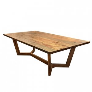 Milan dining table in Western Australian Marri