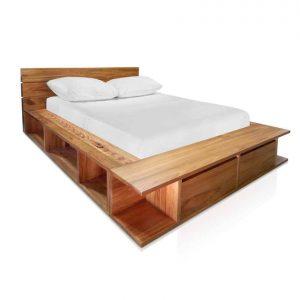 Genoa bed in Tasmanian Blackwood