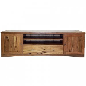Naturally Timber 'Berlin' TV unit - Western Australian Marri