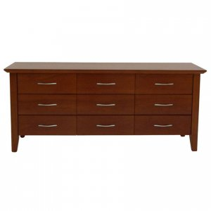 Naturally Timber 'Carlton' lowboy chest - River Red Gum