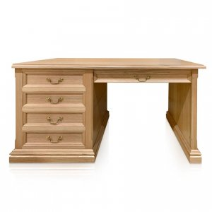 Naturally Timber Classic desk Tasmanian Oak front