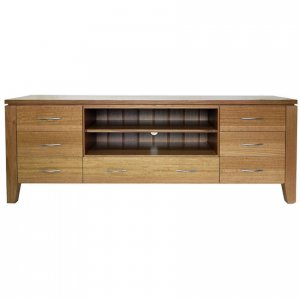 Naturally Timber 'Contempo' TV unit - Tasmanian Oak