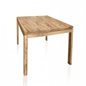 Naturally Timber 'Contempo' dining table - Birds-eye Maple