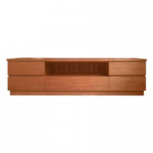 Naturally Timber 'Denmark' TV unit - Fijian Mahogany