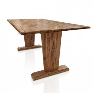 Naturally Timber 'Eden' dining table - Western Australin Marri