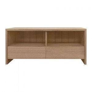 Naturally Timber 'Edo' TV unit - Bluestone-stained Tasmanian Oak