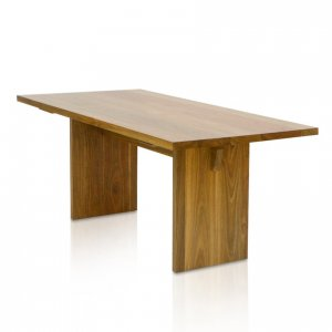 Edo boardroom table in Spotted Gum
