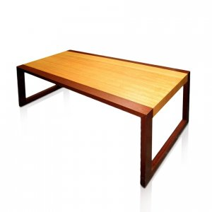 Naturally Timber 'Epoch' coffee table - Tasmanian Oak and Western Australian Jarrah