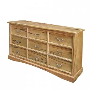 Naturally Timber 'Fontaine' lowboy chest - Western Australian Marri