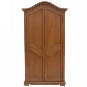 French Provincial armoire in Maple-stained Oregon