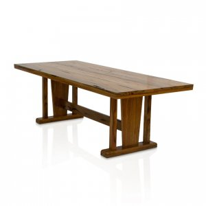 Naturally Timber 'Kobe' dining table - Western Australian Marri