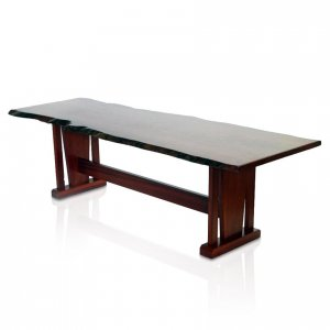 Naturally Timber 'Kobe' single-slab table - River Red Gum