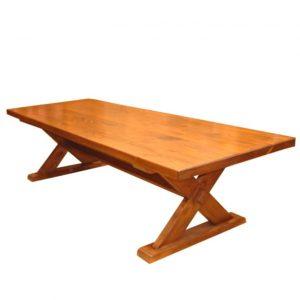 Naturally Timber 'Kurrajong' dining table - Oregon