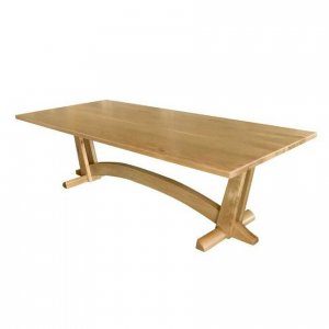 Naturally Timber 'Lloyd' dining table - American Oak