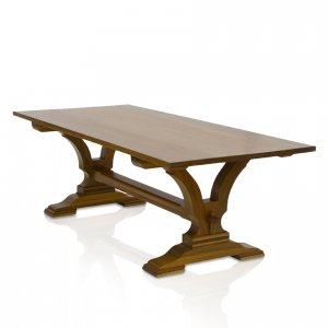 Madrid boardroom table in Spotted Gum