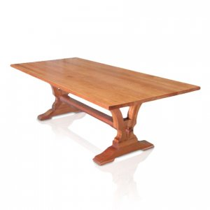 Naturally Timber 'Madrid' boardroom table - Sydney Blue Gum