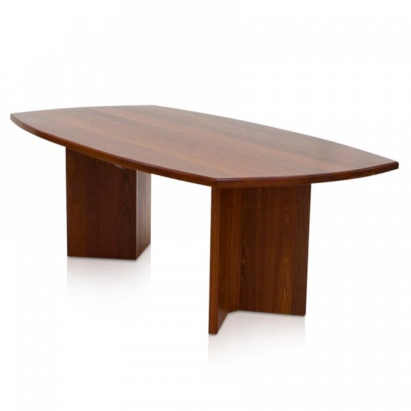Naturally Timber 'Metropolis' dining table - River Red Gum