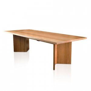 Naturally Timber 'Metropolis' dining table - Spotted Gum