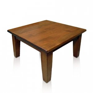 Naturally Timber 'Paddington' lamp table - Oregon