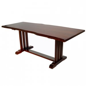 Naturally Timber 'Provence' single-slab dining table - Western Australian Jarrah