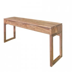 Soho console table in North American Walnut