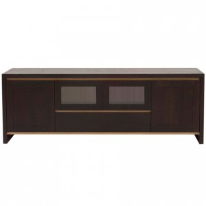 Naturally Timber 'Torino' TV unit - Cambia Oak and Victorian Ash