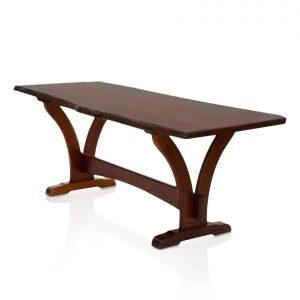 Naturally Timber 'Yarrah' single-slab dining table - Western Australian Jarrah