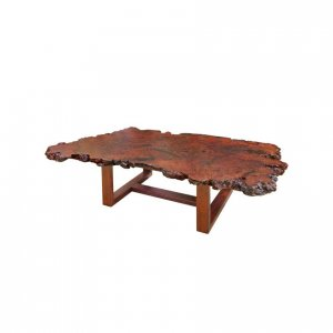 Naturally Timber burl coffee table - River Red Gum