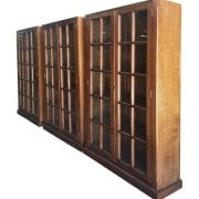 Naturally Timber custom-design bookcases - Pecan-stained Tasmanian Oak