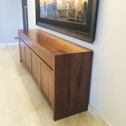 Naturally Timber custom-design sideboard - American Walnut