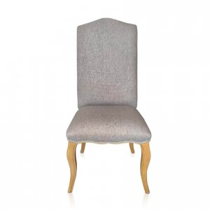 Loire dining chair in Warwick Bodhi Pebble fabric