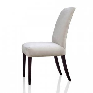 Gemini dining chair in white