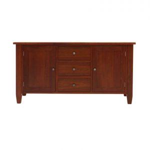 Leura 2-door 3-drawer sideboard in River Red Gum