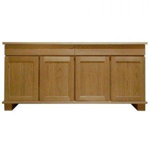 Ravenna 4-door 2-drawer sideboard in American Oak