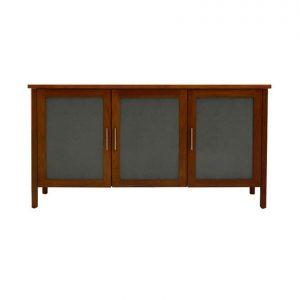 Armidale 3 glass-door sideboard in River Red Gum