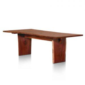 Edo single-slab table In Pacific Cedar