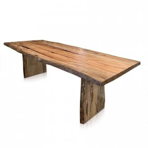 Edo single-slab dining table in Western Australian Marri