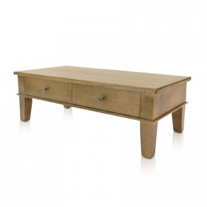Naturally Timber 'Tuscany' coffee table - Wenge-stained Tasmanian Oak