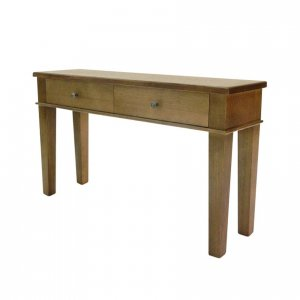 Naturally Timber 'Tuscany' console table - Wenge-stained Tasmanian Oak
