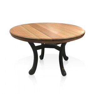 Naturally Timber 'Tivoli' dining table - Cambia Oak top and Tasmanian Oak base