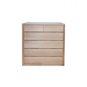 Naturally Timber 'Amalfi' tallboy chest - Tasmanian Oak