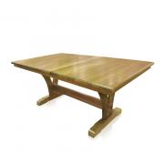 Naturally Timber 'Yarrah' extension Table - Tasmanian Blackwood, closed