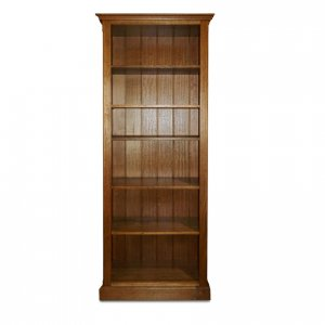 Cambridge bookcase in Maple-stained Tasmanian Oak